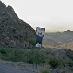 """На Път 66 през Черните планини. Този участък някога е наричан """"Bloody 66"""". Снимка: Иван Бакалов"""