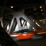 Chicago, Illinois. Под мостовете на Чикаго. Снимка: Иван Бакалов