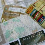 Route 66. В някои карти на отделните щати Route 66 е отбелязан с подробности. Снимка: Иван Бакалов