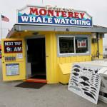 На рибарския кей в Монтерей - покана към туристите за разходка с корабче за наблюдения на китове. Снимка: Иван Бакалов