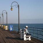 На кея в Санта Моника. Снимка: Иван Бакалов