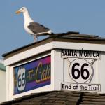 Краят на пътя - на кея в Санта Моника. Снимка: Иван Бакалов