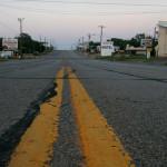Shamrock, Texas. Път 66 в Шамрок, Тексас. Снимка: Иван Бакалов