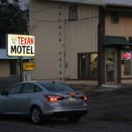 Shamrock, Texas. Шамрок, малко градче на Път 66. И мотел, който претендира да е исторически, но е просто вехт. Снимка: Иван Бакалов