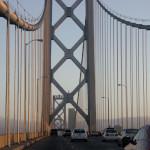 Мостът Бей Бридж от Окланд към Сан Франциско. Снимка: Иван Бакалов