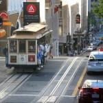 """Улица """"Пауъл"""" в Сан Франциско. Снимка: Иван Бакалов"""